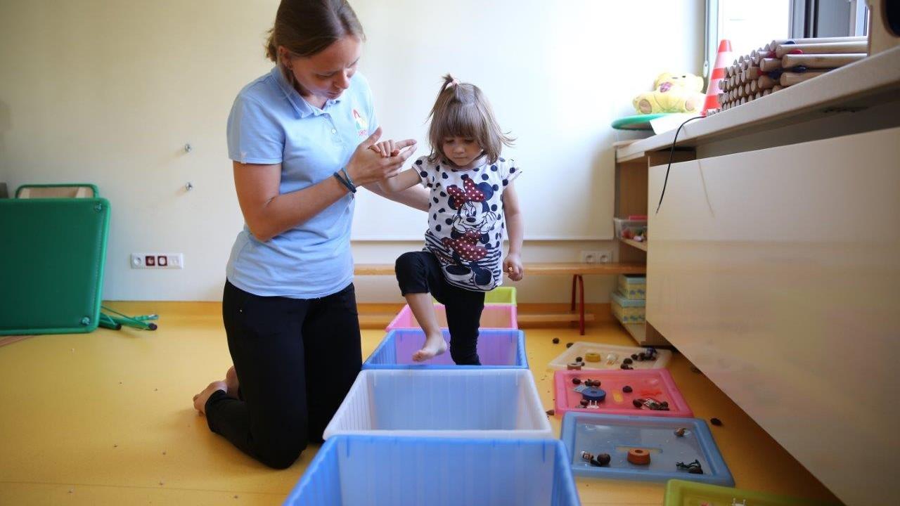 Terapia integracji sensorycznej fot.1